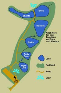 Map of Shatterford Lakes