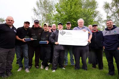 Some of the competitors from the 2012 Total-Fishing.com Glebe Festival who raised £1810 for charities.