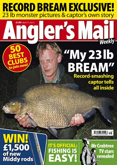 Anglers Mail broke the story of the new British bream record.