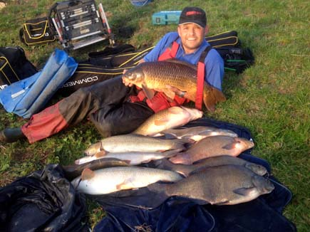 Alan Henry River Trent catch