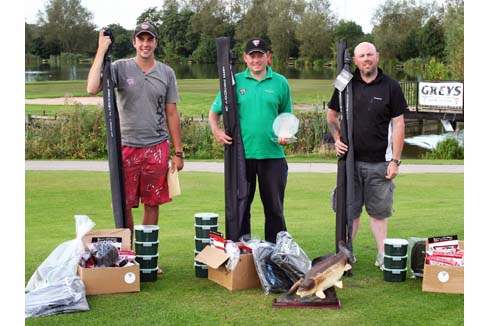 The 2012 Barston Lakes Masters Top Three