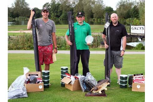 The 2012 Barston Lakes Masters Top Three