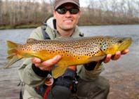 Argyll Holidays wild brown trout fishing