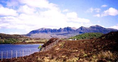 Lochan an Iasgaich on the River Inver, Assynt
