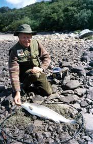 Loch Hope sea trout.