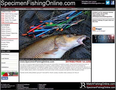 Specimen Fishing Online