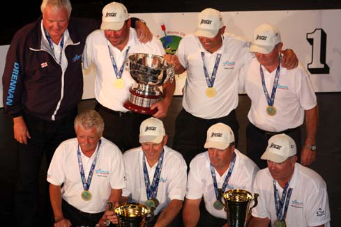 Drennan England dominated the 2013 world match fishing championships in practice and in the match.