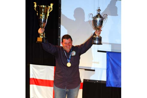 2013 world match fishing gold medallist, Diddier Delannoy of Frace