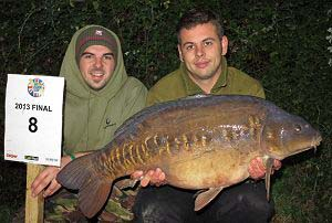Kev Grout 2013 UK Carp Cup champion