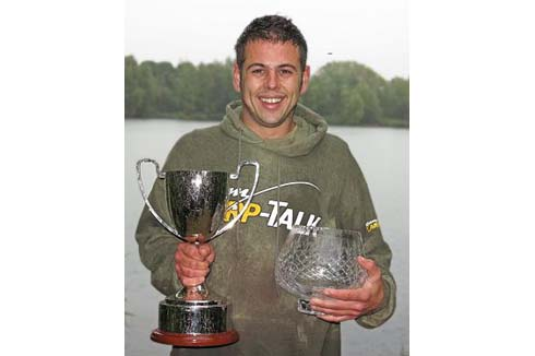 Kev Grout 2013 UK Carp Cup winner