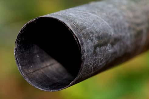 Pole repair splintered No8 male