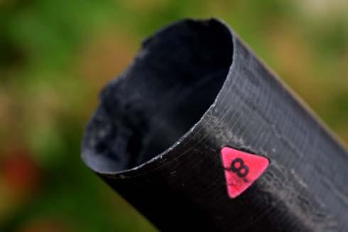 Pole repair chipped No8 female