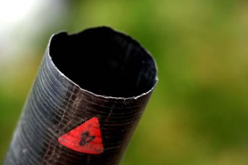 Pole repair chipped No4 female