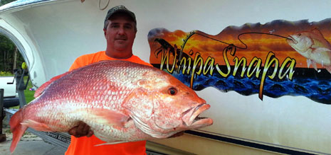 Mens tippet class Red Snapper Record