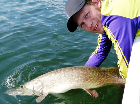 All tackle record Northern Pike
