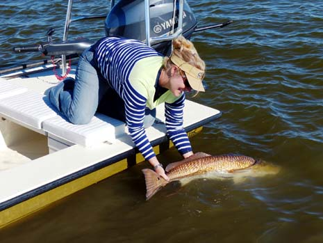 Womens tippet Class Record Redfish