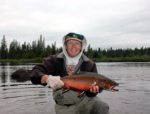 All Tackle record Brook Trout