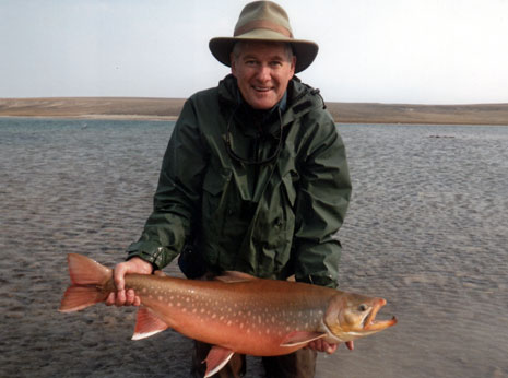 all tackle length record Arctic Char