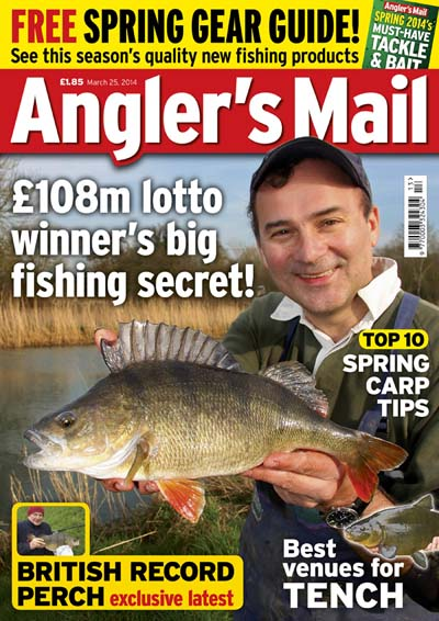 Anglers Mail Cover Gareth Purnell