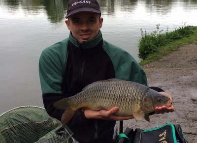 Kurtis Greenwood won the UK Champs qualifier at Barston lakes
