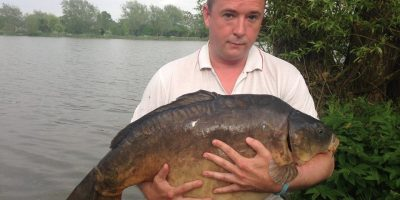 george Johnson 35lb barston lakes carp venue record May 2014.jpg