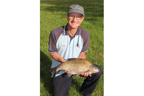 Graham Welton match angler