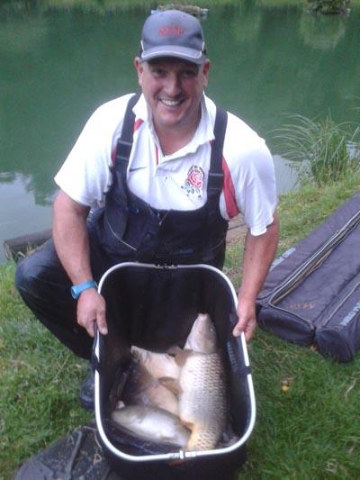 Martyn Brown match angler