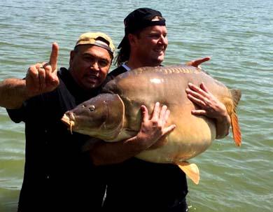 carp world record 105lb Euro Aqua