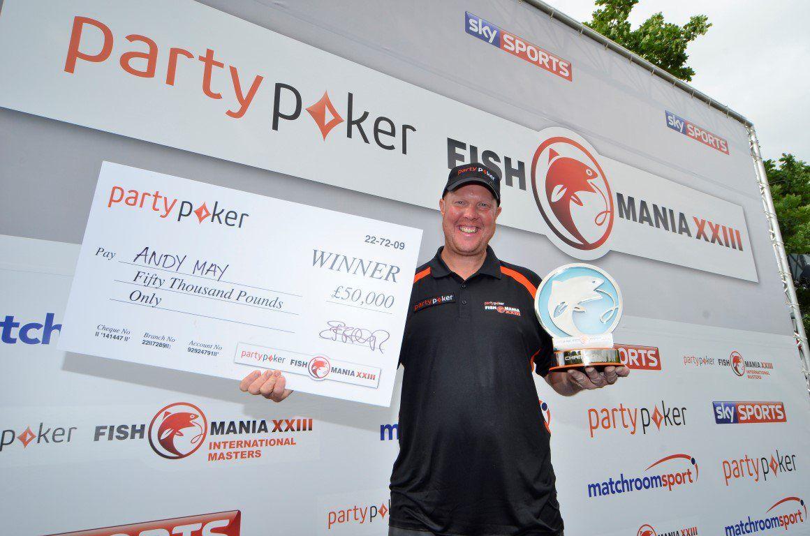 Fish O mania winner 2016 Andy May