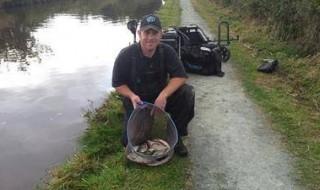 Llangollen canal fishing