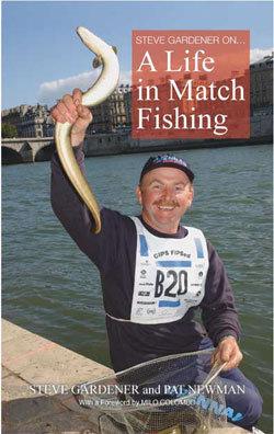 Steve Gardener match angler book launch 2016