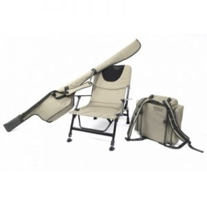 The Korum Roving Kit - chair, quiver and ruckbag for under £100