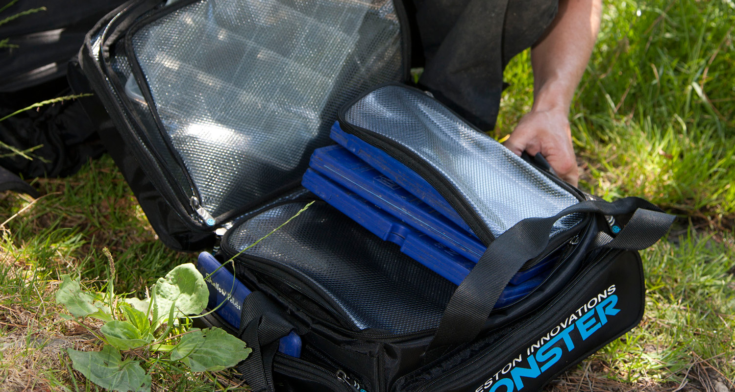 Preston Innovations Monster Feeder and Accessory Bag