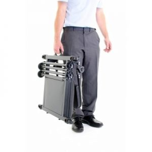 The NuFish Restabox packs down to just 21cm height and 7kg and is carried briefcase style.