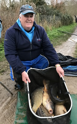 Steve Jackson match angler 2017