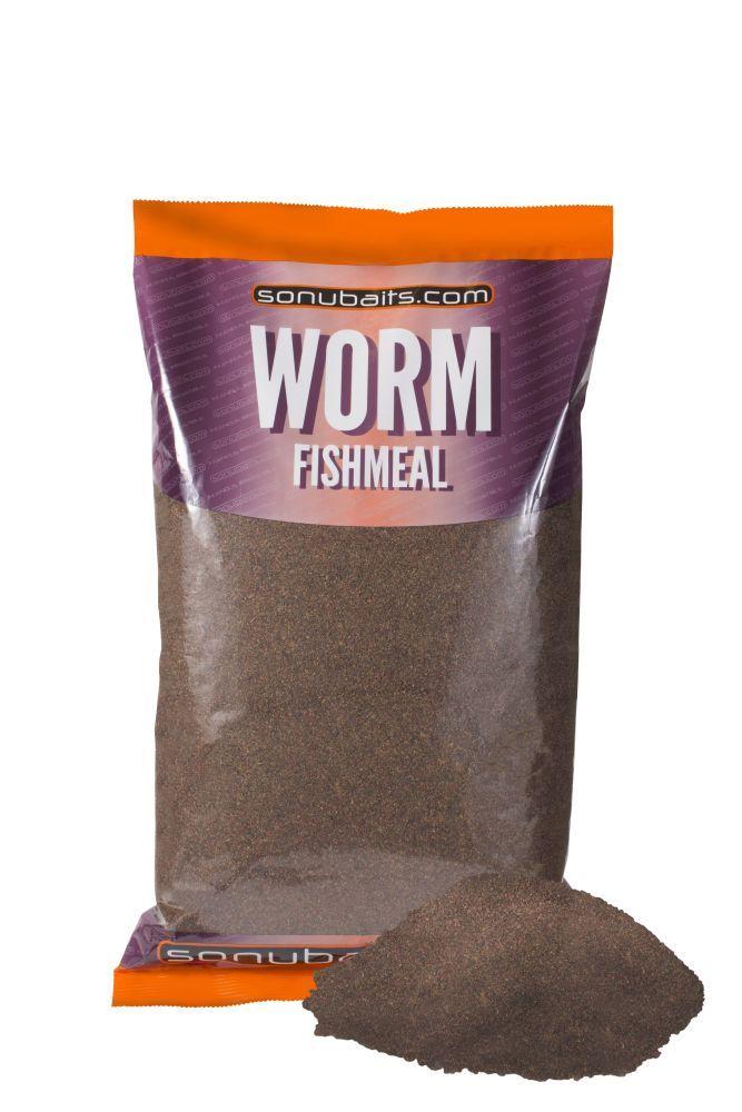 Sonubaits worm fishmeal groundbait