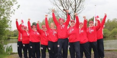 England ladies carp fishing team