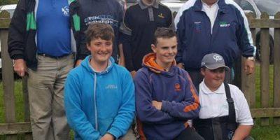 England youth match fishing team 2017