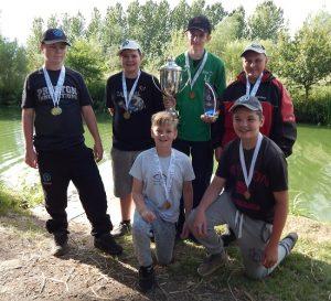 Sensas A4 junior match fishing national 2017