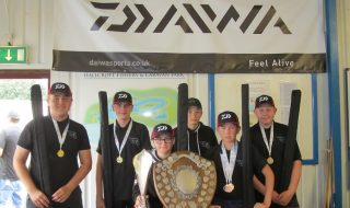 Campsmount Academy angling team 2017