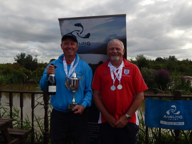 Harry Billing wins the Vets National Match Fishing Championships 2017