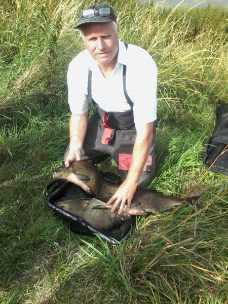 Ivan Marks memorial winner 2017 Roger Wakenshaw with his catch