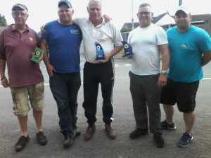 The top anglers from the 2017 Ivan Marks Memorial on the River Witham