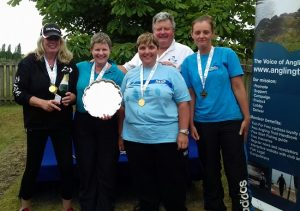 Ladies National winning team 2017