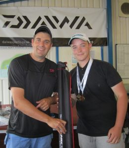 Individual winner Luke Easy