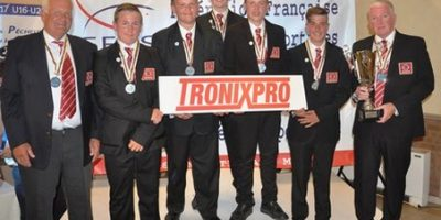 Silver for England's juniors at World Shore Fishing Championships 2017