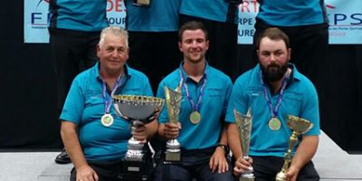 Barnsley Blacks win world club match fishing championship