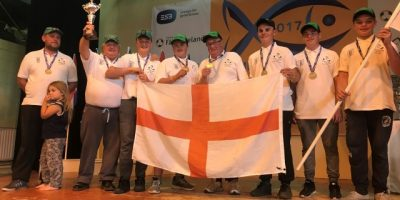 England match fishing youth team 2017 - Under 15s.