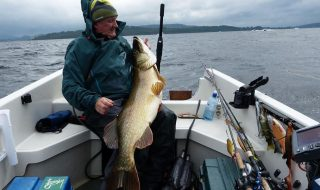40lb 5oz pike from Loch Lomond