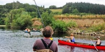 Anglers and canoeists